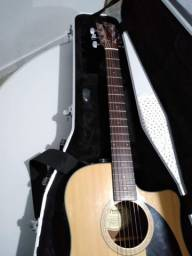 Violão Fender CD 60 CE + Case Gator para violão