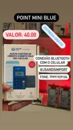 Maquininha point mini Blue