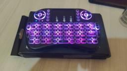 Controle Teclado Bluethoot c touchpad