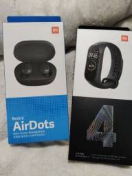 Redmi AirDots da Da Xiaomi.. Novo lacrado com garantia e entrega imediata