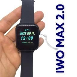 Relógio Smartwatch Iwo Max 2.0 Mickey Minnie Nike Original + protetor case