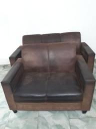 Jogo de sofá bem conservado só falta limpar