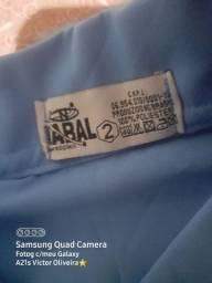 Vendo Camisa Social Azul! Favor leia a descrição.