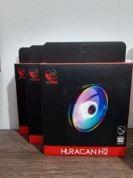 FAN 120mm RGB | Pcyes | Garantia | Novo, na Caixa