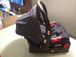 Bebê Conforto + redutor + suporte carro