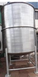 Título do anúncio: Tanque Misturador em Aço Inox 304 Vol. 9000 litros - #8601
