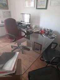 Mesa de escritorio Executiva em Vidro