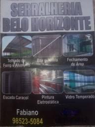 Serralheiro venha fazer seu orçamento sem compromisso melhor preço a baixo da tabela
