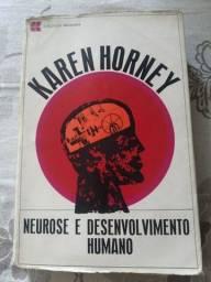 Livro raro Neurose e Desenvolvimento humano