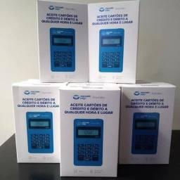 Maquininha de cartão point mini d150 Conecte seu celular ou tablet Promoção