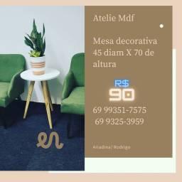 Mesa decorativa