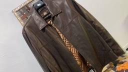 Casaco de couro importado EUA legítimo