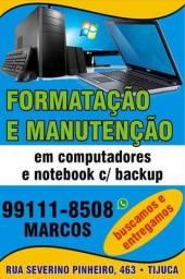 Formatação e Manutenção em Computadores e Notebooks