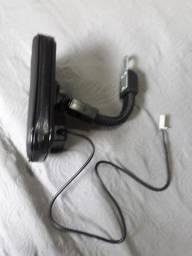 Porta celular com usb