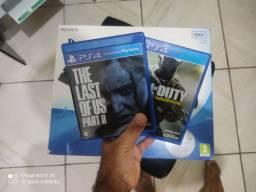 PS4 slim 500GB+ JOGOS