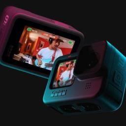 Câmera GoPro Hero9 5K Black - Nova