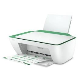 Título do anúncio: Impressora HP Deskjet Multifuncional Ink Advantage 2376 Branca e Verde - Loja Natan Abreu
