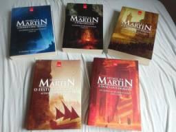 Crônicas de gelo e fogo - 5 livros