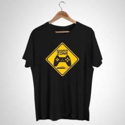 Título do anúncio: Camisa Camiseta Gamer Zone