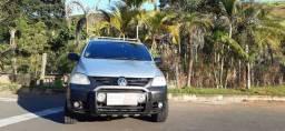 Volkswagen CrossFox prata hacht completo motor 1.6 ano 2007