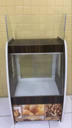 Balcão vitrine seca ( caixa)
