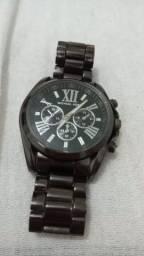 Relógio Michael Kors - Aço Preto 43mm