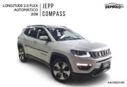 JEPP COMPASS LONGITUDE 2.0 FLEX AUTOMÁTICO 2018