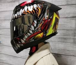 Título do anúncio: capacete Venom