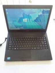 Notebook Positivo Dual Core 847 2GB 320GB S1991i Com Garantia