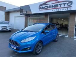 New Fiesta Titanium 1.6 Automatico, top. Revisado, pneus novos, cor diferenciada, Ano 2014