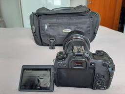 Cannon 77 D com lente 24-105mm
