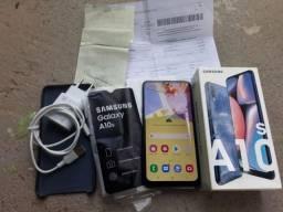 Samsung A10as  com nota fiscal
