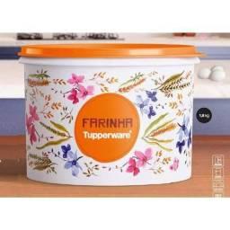 Título do anúncio: Promoção Tupper caixa mantimento Tupperware Farinha 1,8 kg