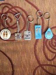 Vendo chaveiros vw antigos raros da revenda Pavema de Curitiba