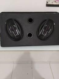 Caixa de som com 2 6/9 em até 10x sem juros