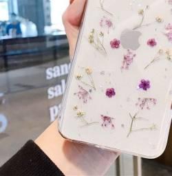 Capa de flores para iphone XS
