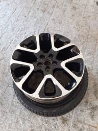 Título do anúncio: Roda/sensor e pneu Jeep Compass aro 19