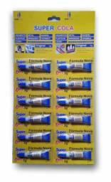 Cola Tudo Para Artesanato - Super Cola Com 12 Unidades De 3g