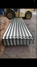 Promoção de telhas zinco+galvanizada mede 2,44 X 0,66 Valor 21,00 Manaus