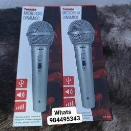 Microfone com fio tomate MT-1018