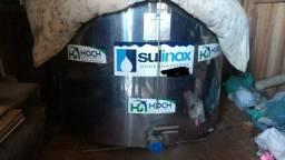 Resfriador de leite inox