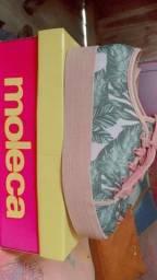 Sapato tênis moleca