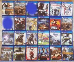 Jogos Ps4 GTA+Red dead+Days gone+Cal duty+GT+F-1+Need+BF+DMC+Ufc+Fifa+Creed+Uncharted