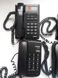 Lote de Aparelhos de Telefone Fixo Intelbras