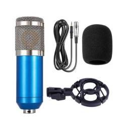 Microfone Condensador Estúdio De Gravação De Som