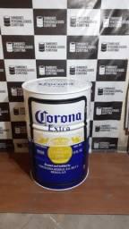 Tambor com porta e prateleira Corona Extra