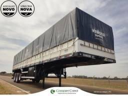 Título do anúncio: Carreta LS Graneleiro Randon 2019 sem pneus 3 eixos Assoalho e Lona novas