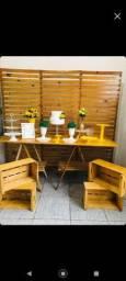 Painel mesa Cavalete  e acessórios R$:350