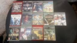 13 jogos de PS3 por 250 reais vendo separados