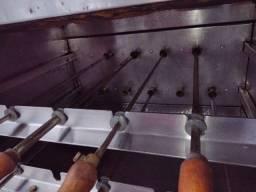 Assadeira gás gira grill 9 espetos